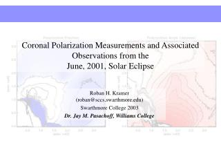 Coronal Polarization Measurements and Associated Observations from the  June, 2001, Solar Eclipse