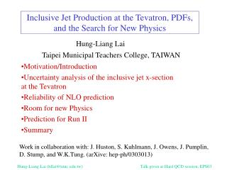 Inclusive Jet Production at the Tevatron, PDFs, and the Search for New Physics