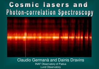 Photon-correlation Spectroscopy