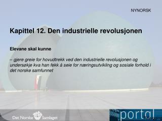 Kapittel  12.  Den industrielle revolusjonen