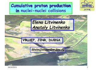 Cumulative proton production in  nuclei-nuclei collisions