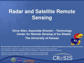 Radar and Satellite Remote Sensing