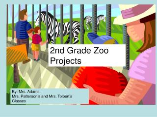 2nd Grade Zoo Projects