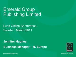 Emerald Group Publishing Limited
