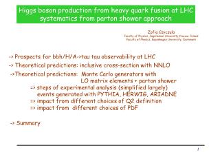 Higgs boson production from heavy quark fusion at LHC systematics from parton shower approach