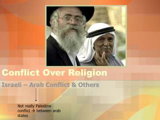 Conflict Over Religion