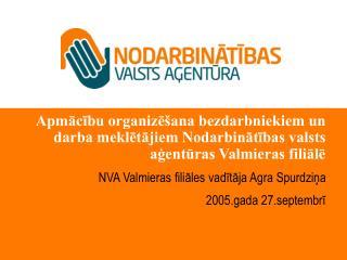 Bezdarba situācija  dati uz 02.09.2005.