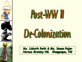 Post-WW IIDe-Colonization