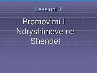 Leksioni  1