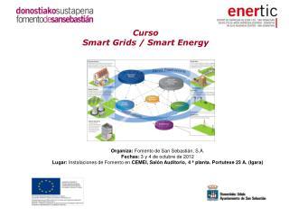 Curso  Smart Grids / Smart Energy
