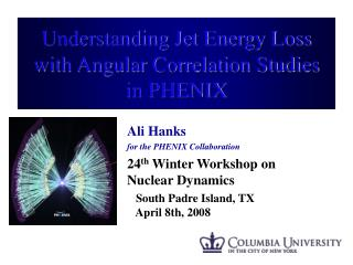 Understanding Jet Energy Loss with Angular Correlation Studies in PHENIX