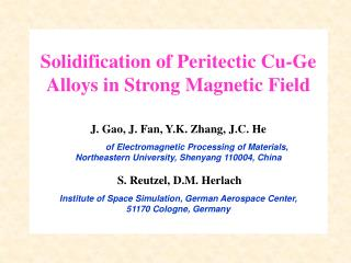Review on Effects of Static Magnetic Fields in Alloy Solidification