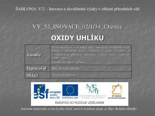 VY_52_INOVACE_02/1/34_Chemie