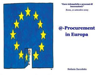 @-Procurement  in Europa