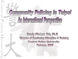 Community Policing in Taipei
