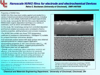 Nanoscale Ni