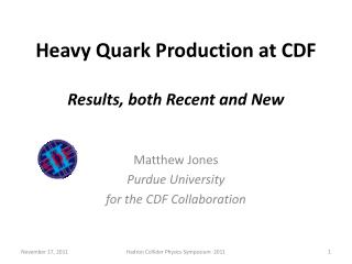 Heavy  Quark Production at  CDF Results, both Recent and New