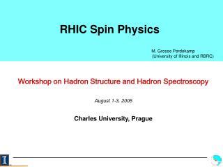 RHIC Spin Physics