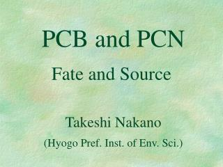 PCB and PCN