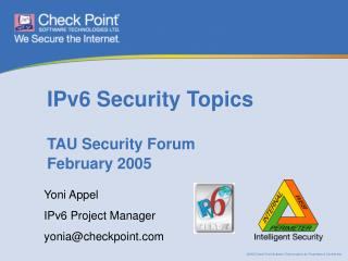 IPv6 Security Topics