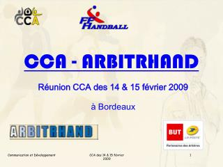 CCA - ARBITRHAND