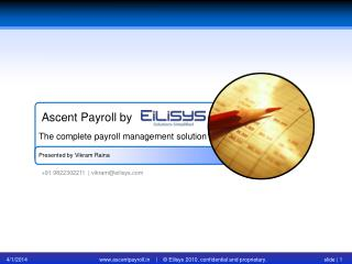 Employee Self Service | Payroll software | Payroll Delhi | P