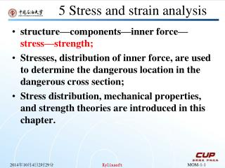 5 Stress and strain analysis