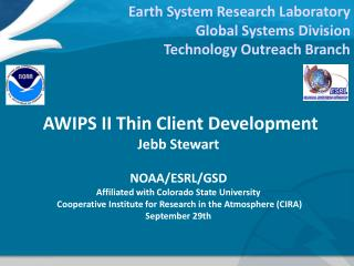Earth System Research Laboratory Global Systems Division Technology Outreach Branch