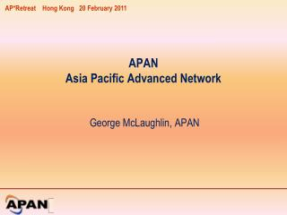 APAN Asia Pacific Advanced Network