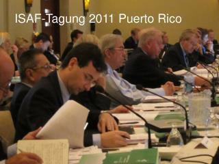 ISAF-Tagung 2011 Puerto Rico