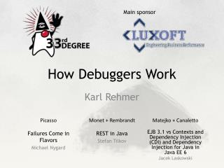 How Debuggers Work
