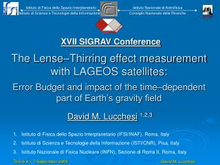 The Lense�Thirring effect measurement with LAGEOS satellites: