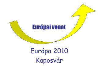 Európai vonat