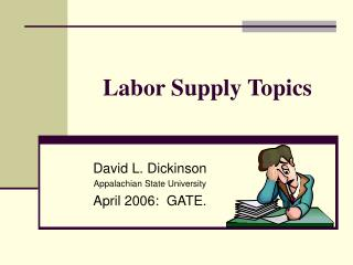 Labor Supply Topics