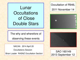 Lunar Occultations  of Close  Double Stars