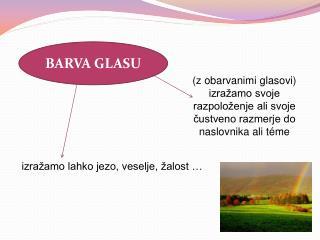 BARVA GLASU