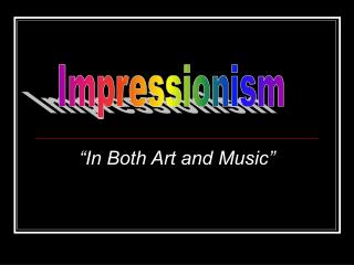 """In Both Art and Music"""