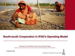 South-south Cooperation in IFAD's Operating Model ______________________________________________