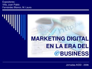 MARKETING DIGITAL EN LA ERA DEL BUSINESS