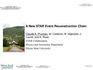 A New STAR Event Reconstruction Chain