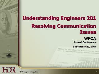 Understanding Engineers 201 Resolving Communication Issues