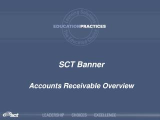 SCT Banner Accounts Receivable Overview
