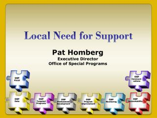 Local Need for Support