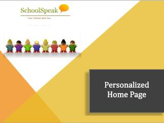 Personalized Student Information System