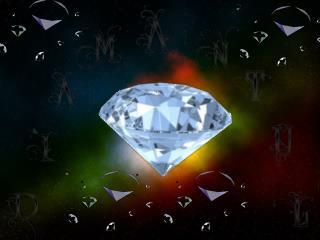 Diamantul  este un  mineral  nativ şi în  acelaşi timp o  piatră preţioasă .
