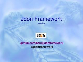 Jdon Framework (english)