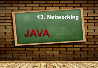 13. Networking