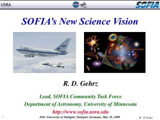 SOFIA�s New Science Vision