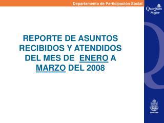 Departamento de Participación Social