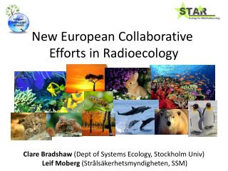 New European Collaborative  Efforts in Radioecology